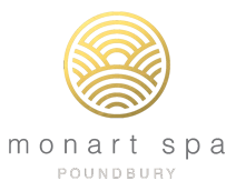 monart day spa poundbury logo gold
